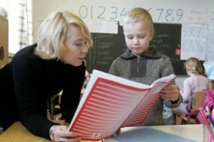 Una escola a la localitat finlandesa de Vasa