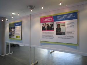 Exposició Bones notícies, Biblioteca Comarcal de Blanes