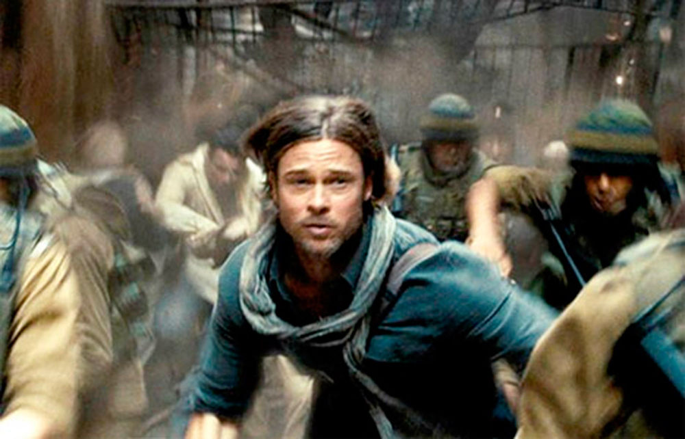 'World War Z': Cervells? No, crispetes!