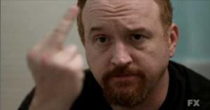 Louie-Middle-finger