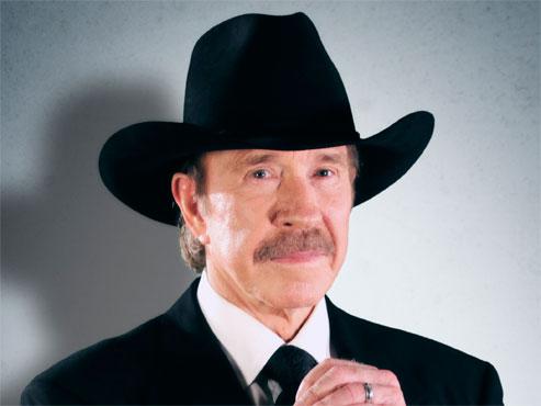 Chuck Norris, de vocació dur
