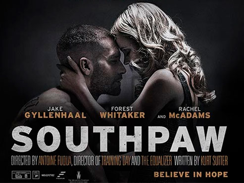 'Southpaw'. A cops de puny