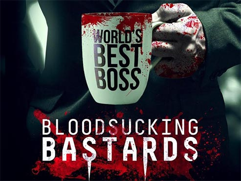 'Bloodsucking bastards', vampirs d'oficina