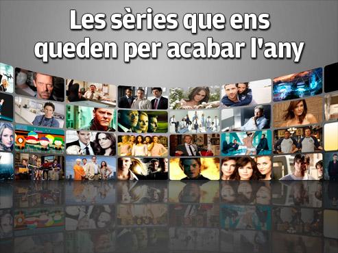 Les sèries que ens queden per acabar l'any