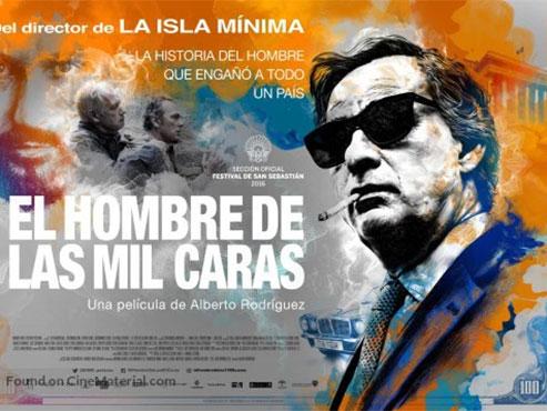 'El hombre de las mil caras'. Alberto Rodríguez està en forma.