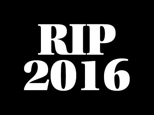 Bastards i bastardes que ens han deixat aquest 2016