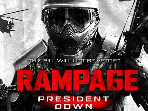 'Rampage: President Down', oda al cinema porqueria