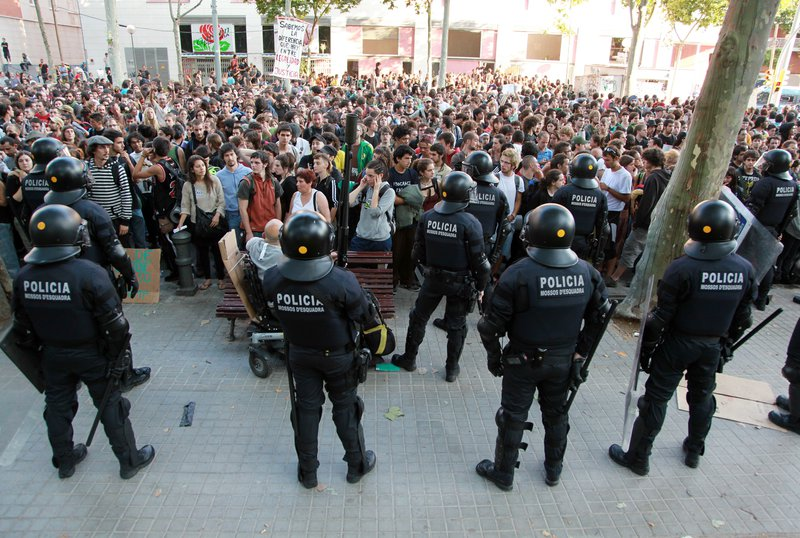 Barcelona. Política.