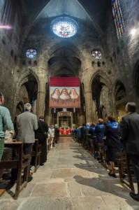NGEL ALMAZAN -ACN  L'acte de beatificació  fet a la Catedral de Girona