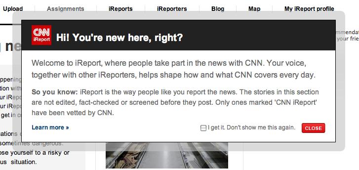 iReport de la CNN