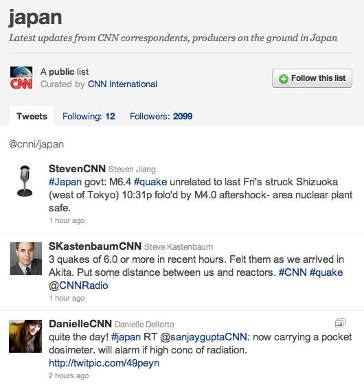 Japan, el twitter de la CNN al Japó